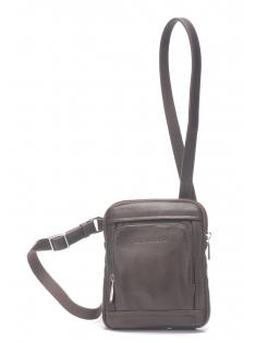Petit sac travers cuir vachette et doublure coton