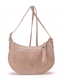 Sac Bandoulière Louise Cuir Taupe
