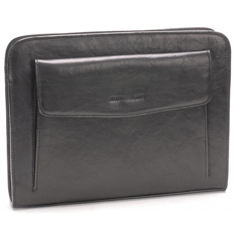 Porte-documents cuir moyen modèle