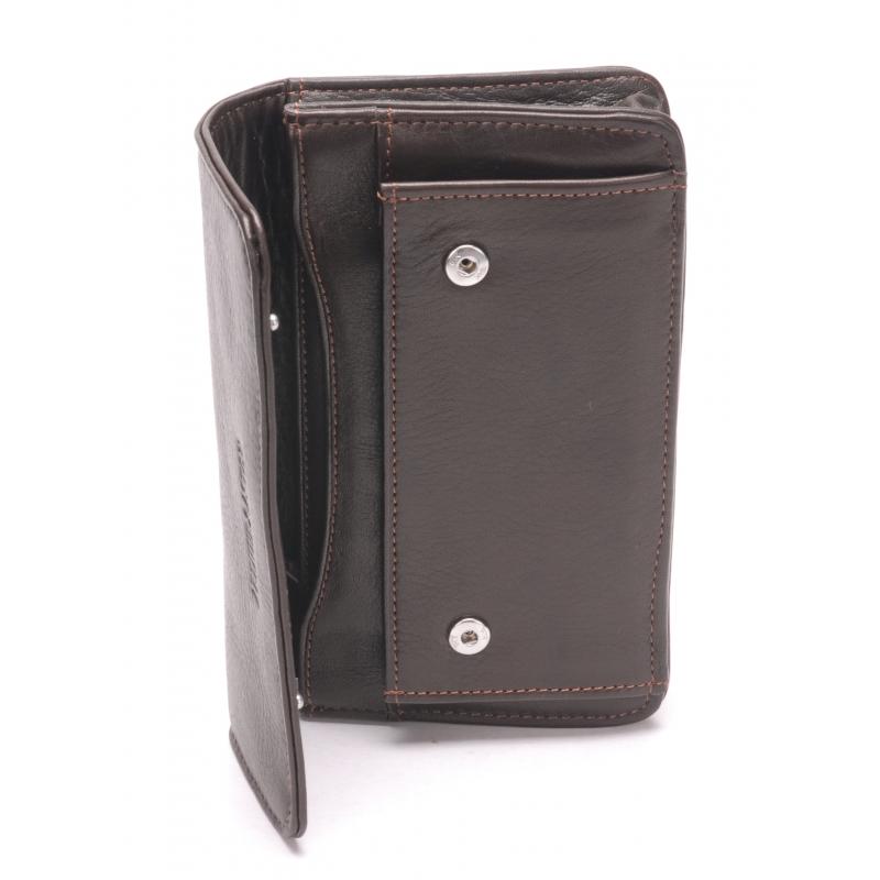 63b6a65aad1 ... Pochette ceinture cuir vachette plongé et doublure polyester ...