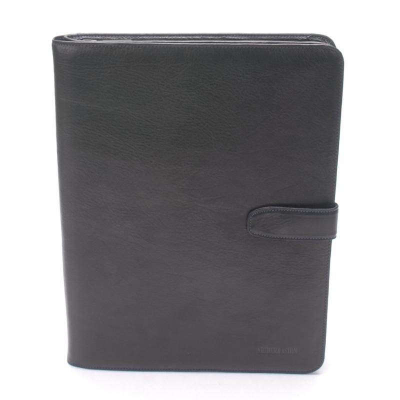 Conférencier cuir vachette plongé et doublure polyester