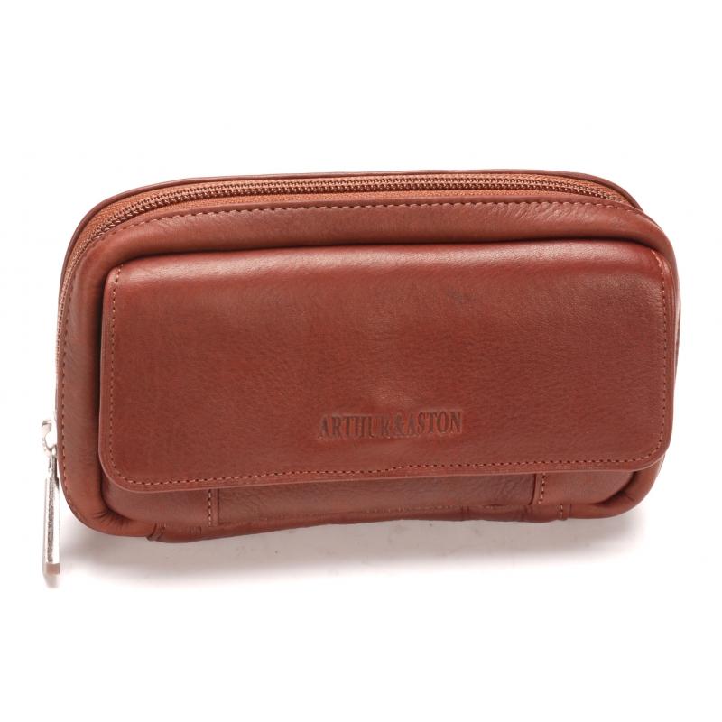 ... Pochette ceinture cuir vachette plongé et doublure polyester 6e2f66a0a18