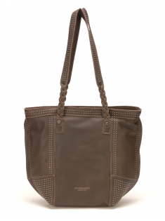 Sac Shopping Ashley Cuir Chataigne
