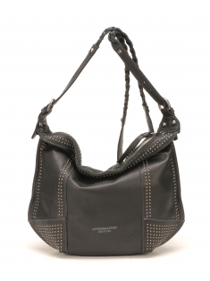 Sac Travers Ashley Cuir Noir