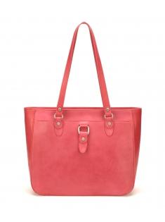 Sac Shopping Eva Cuir Rouge