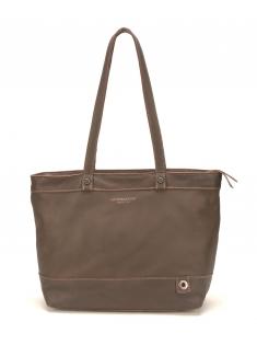 Sac Shopping Ashley Cuir Chataigne