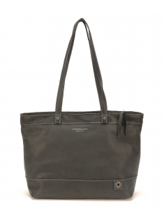 Sac Shopping Ashley Cuir Noir