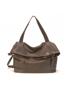 Sac Epaule Ashley Cuir Chataigne
