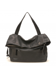 Sac Epaule Ashley Cuir Noir