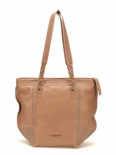 Sac Shopping Ashley Cuir Naturel