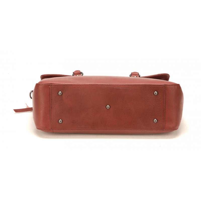 Petit Sac à Main Sophia Cuir Bordeaux - La boutique Arthur Aston c3a1f003345