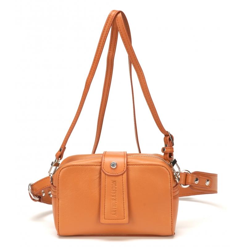 4c89aec176d Sac bandoulière pochette ceinture Délia cuir - La boutique Arthur Aston