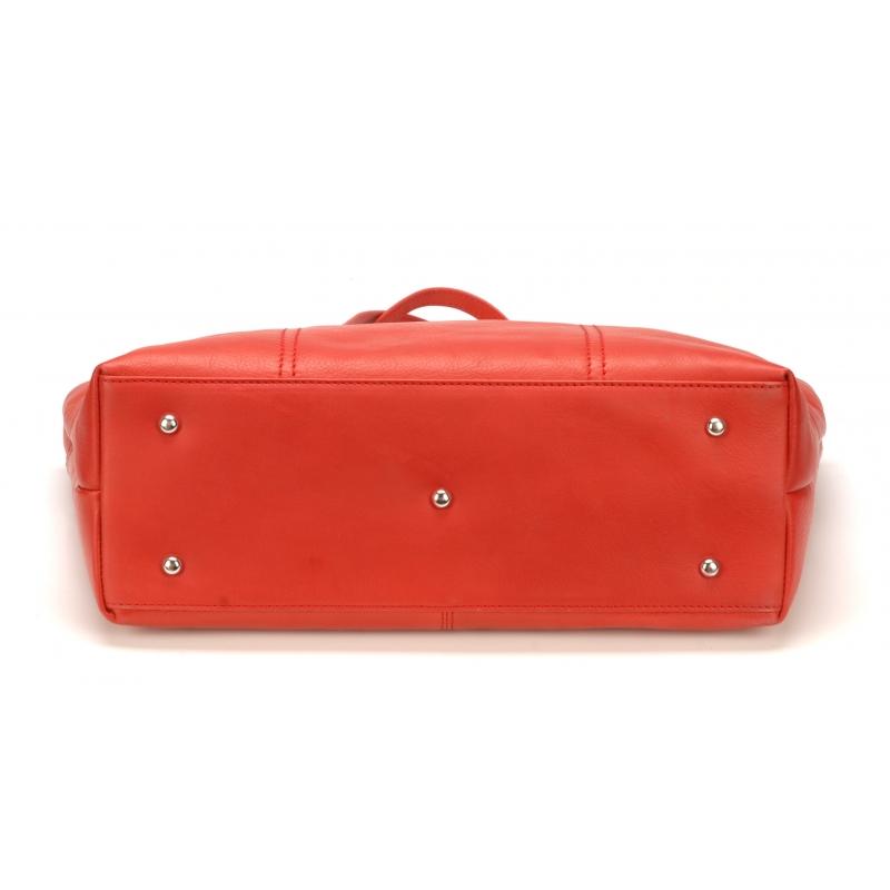 Sac shopping petit modèle Scarlet cuir