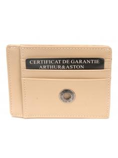 Porte cartes Meghan cuir