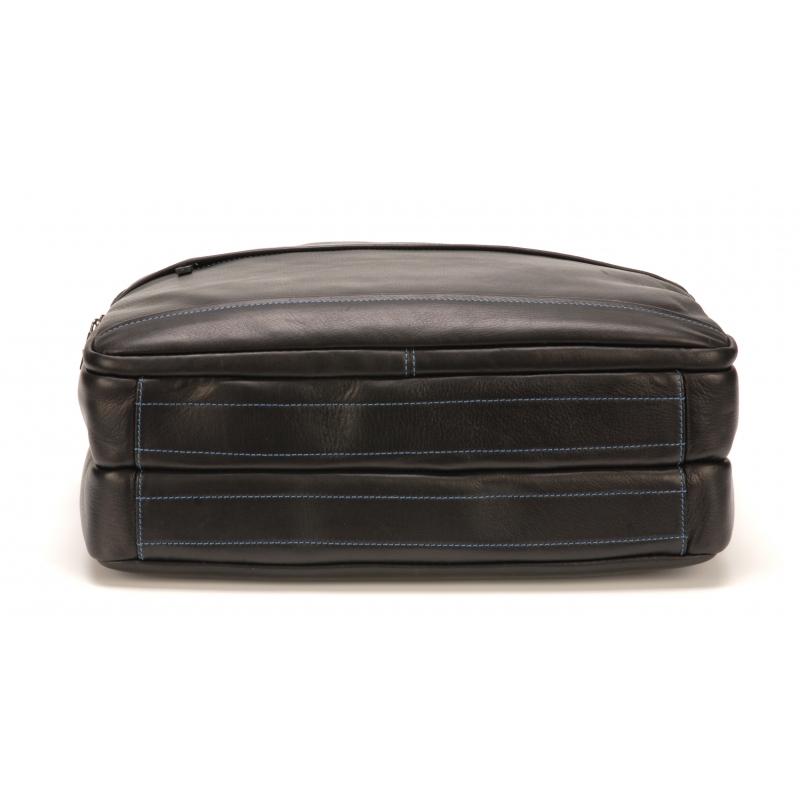 Porte document grand format cuir vachette plongé