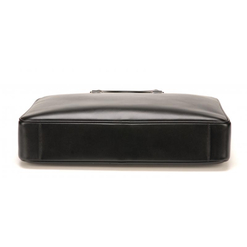Porte-document moyen format cuir vachette