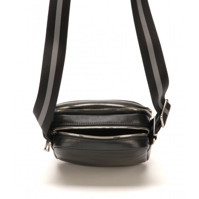 Porte travers moyen format Charles cuir vachette