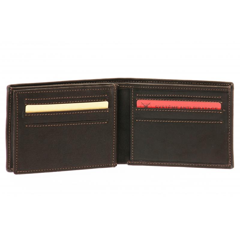 Porte-cartes italien Louis cuir gras
