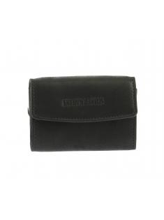 Porte-monnaie dos à dos cuir gras