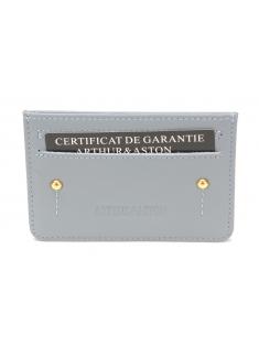 Porte-cartes cuir vachette Paris