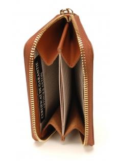 Porte-monnaie et cartes Clémence en cuir