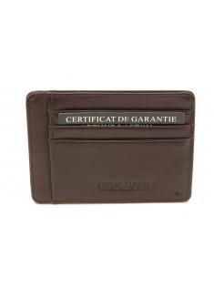 Porte-cartes Léo en cuir