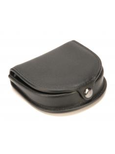 Porte-monnaie cuvette Léo en cuir