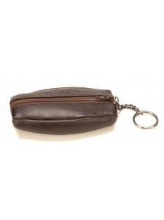 Porte-monnaie grain de café Léo en cuir