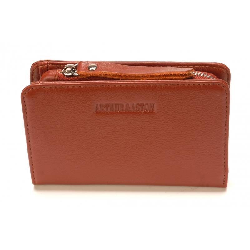 Porte-monnaie et cartes Emma en cuir