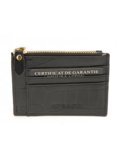 Porte-monnaie et carte cuir Romy